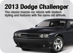 New 2013 Dodge Challenger for sale Surrey Jim Pattison Chrysler Jeep Dodge