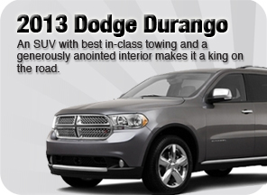New 2013 Dodge Durango for sale Surrey Jim Pattison Chrysler Jeep Dodge