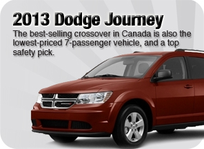 New 2013 Dodge Journey for sale Surrey Jim Pattison Chrysler Jeep Dodge