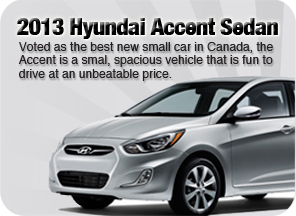 2013 Hyundai Accent Sedan North Vancouver