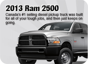 New 2013 Ram 2500 for sale Surrey Jim Pattison Chrysler Jeep Dodge