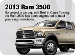 New 2013 Ram 3500 for sale Surrey Jim Pattison Chrysler Jeep Dodge