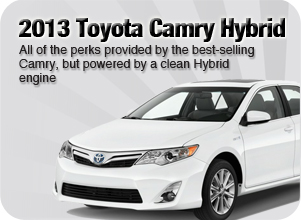 2013 Toyota Camry Hybrid in Downtown Vancouver