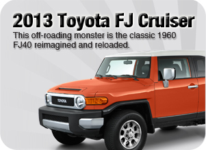 2013 Toyota FJ Cruiser for sale Downtown Vancouver
