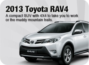 2013 Toyota RAV4 for sale Downtown Vancouver