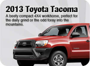 2013 Toyota Tacoma for sale Downtown Vancouver